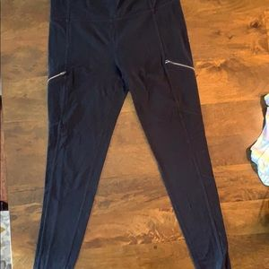 Athleta High Rise Moto Drifter Leggings
